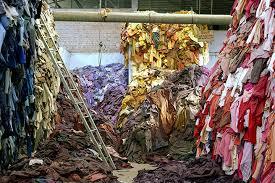 Clothes heap